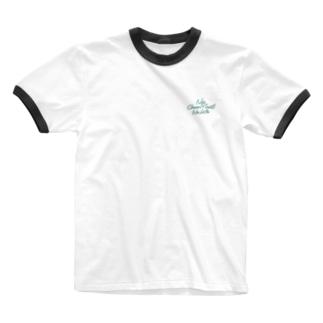 No Choco Mint No Life ワンポイント Ringer T-shirts
