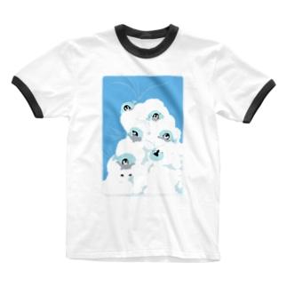 夏風とヒナチャン Ringer T-Shirt