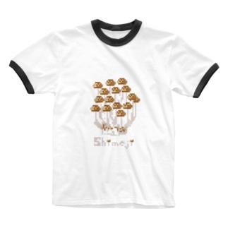 しめじ 〜shimeji〜 Ringer T-shirts