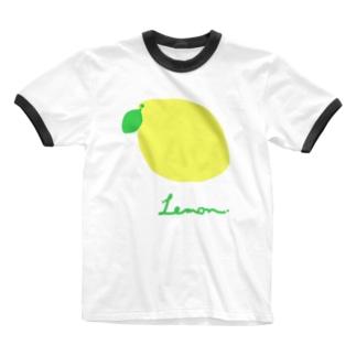 .Lemon. Ringer T-Shirt