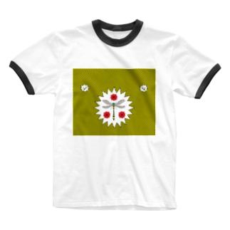 蚊が嫌い Ringer T-shirts