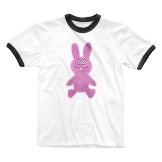 くたくたのうさぎ Ringer T-Shirt