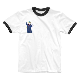 山田涼介 線画 Ringer T-shirts