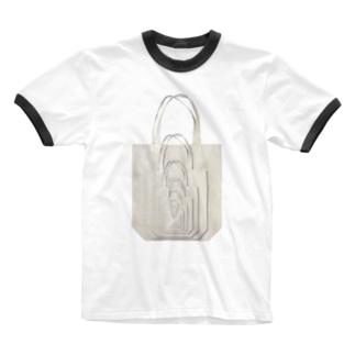 Bag In Bag Ringer T-shirts