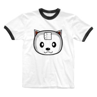 にゃ次郎Bタイプ Ringer T-shirts