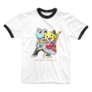 みっけ&ガタゴロウ バレエコンサート Ringer T-shirts