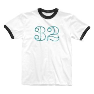 ナンバー32 Ringer T-shirts