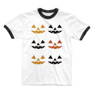 ジャックランタンズ Ringer T-shirts