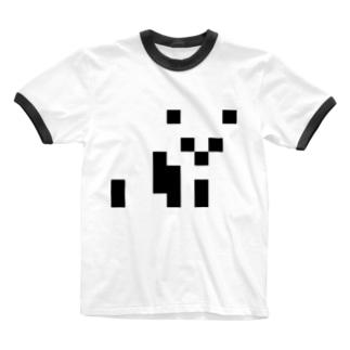 パンダ🐼 Ringer T-shirts