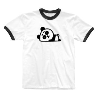 まゆありパンダ Ringer T-shirts