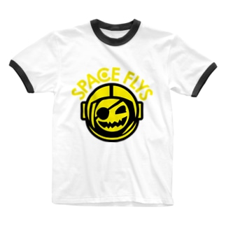 SPACE FLYS Ringer T-shirts