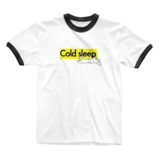 コールドスリープ Ringer T-shirts