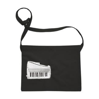 唱口ホース収納ポシェット (鍵盤ハーモニカ研究所オリジナルグッズ) サコッシュ