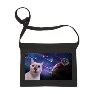 宇宙猫と宇宙ハムスター Sacoches