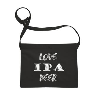 love IPA beer [White] サコッシュ