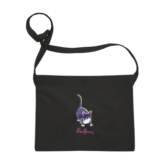 Fanfleecyのmeow meow(black cat) Sacoches