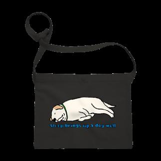Dog Drawer Drawn by Dogの寝る犬は育ちすぎる? Sacoches