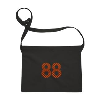 88オレンジロゴ サコッシュ