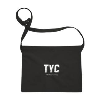 TYCスポーティーロゴ白 Sacoches