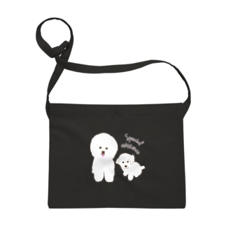 Bichon Frise Special existence Sacoches