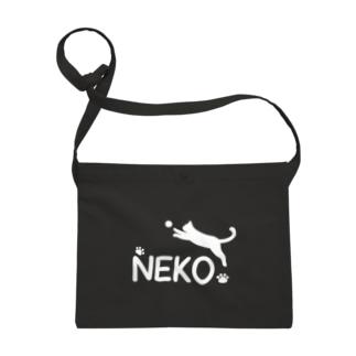 NEKO (猫)ロゴ風 Sacoches