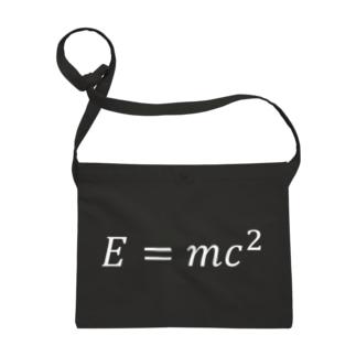 シンプルデザインE=mc^2 Sacoches