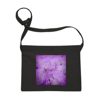 むらむらな紫色のラベンダー Sacoches