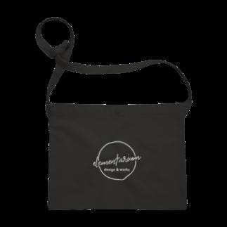 elementarium design&worksのwhite_logo Sacoches