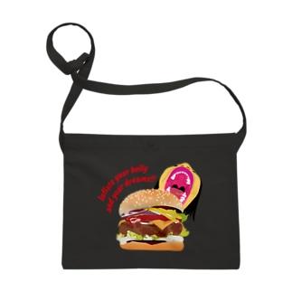 ハンバーガー Sacoches
