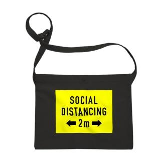 SOCIAL  DISTANCING Sacoches