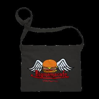 BigmamacafeのBigmamacafe ハンバーガーロゴ Sacoches