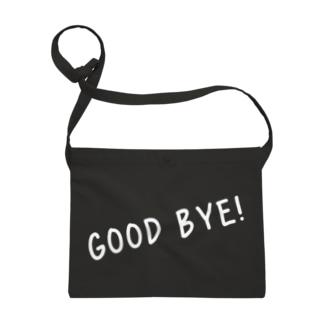 Good Bye! カジュアル白 Sacoches