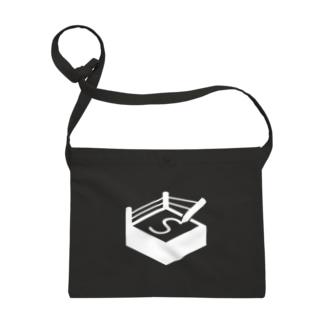 札幌オーギリングロゴ(白) Sacoche