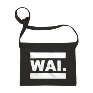 WAIッシュ(ブラック) サコッシュ