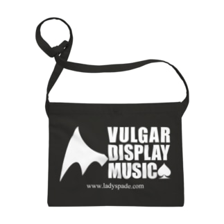 Vulgar Display Music (BLACK) Sacoches