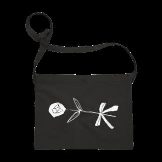明季 aki_ishibashiの花をはこぶひとサコッシュ
