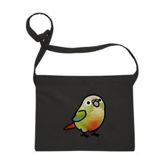 Chubby Bird ウロコインコ Sacoches