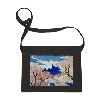 息を呑むような自然に照らし出された浮世絵の精神:Spirit of Ukiyo-e Illuminated by Stunning Nature サコッシュ