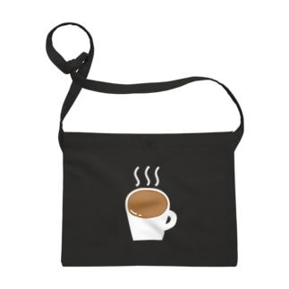 なみなみカフェオレ(白) Sacoches