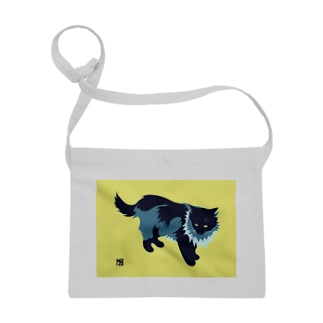 たてがみのある猫の布かばん Sacoches