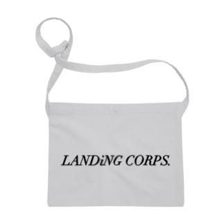 LANDiNG  CORPS. ロゴシリーズ Sacoches