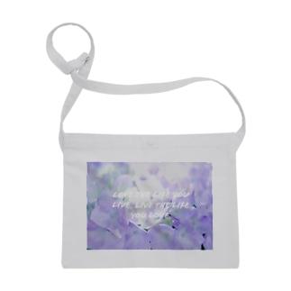 紫陽花のアップ Sacoches