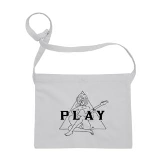 PLAY GIRL(期間限定販売)白ボディ推奨 Sacoches