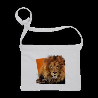キャッツハンド:suzuriショップのやっぱりライオンはきれい! Sacoches