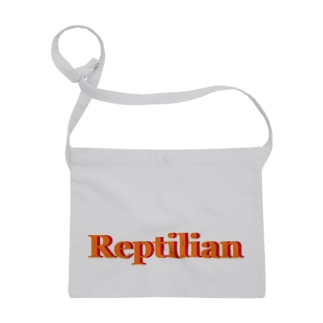 Reptilian ヒト型爬虫類 グッズ Sacoches