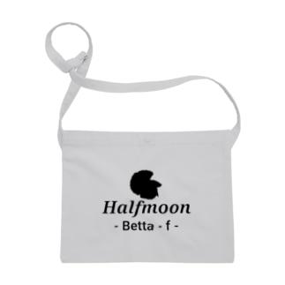 Halfmoon Betta⑤Black Sacoches