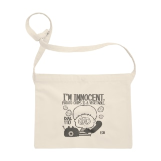 innocent chips モノクロ サコッシュ