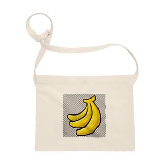 ゲーム風バナナ サコッシュ
