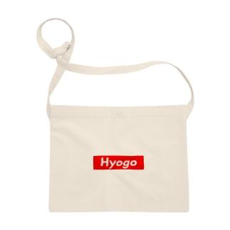 HYOGO(兵庫県/ひょうご)都道府県 ボックスロゴ サコッシュ