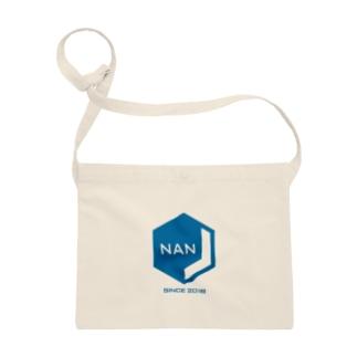NANJCOIN公式ロゴ入り サコッシュ